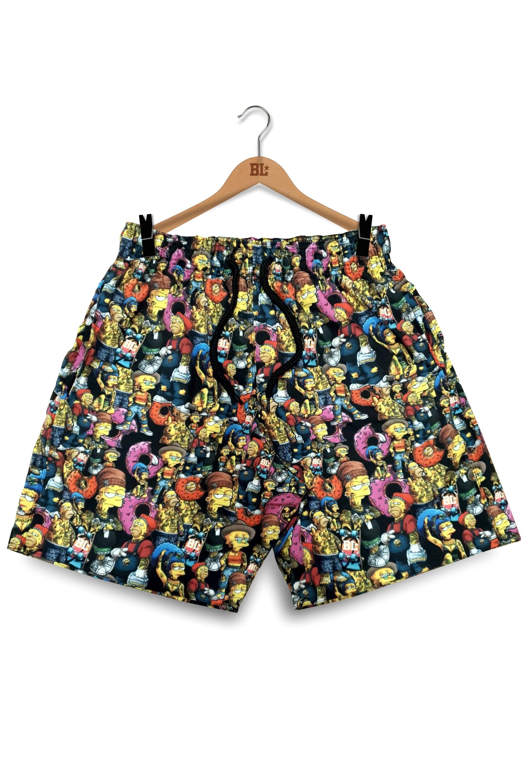 Swim Shorts Simpsons