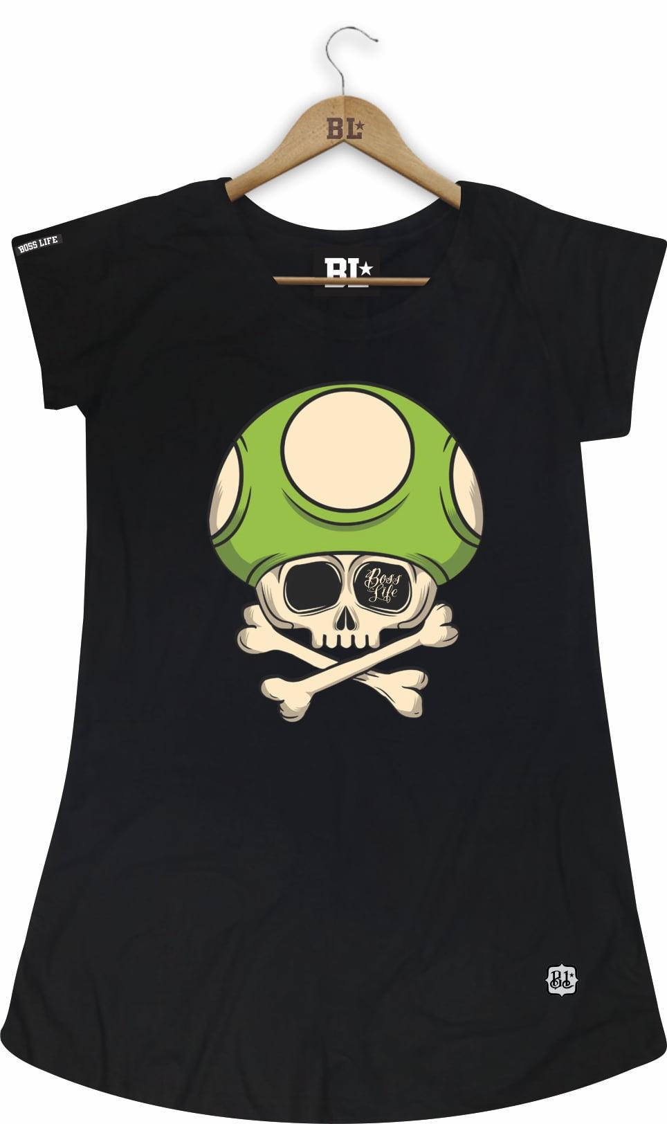Camiseta Feminina Long Toad