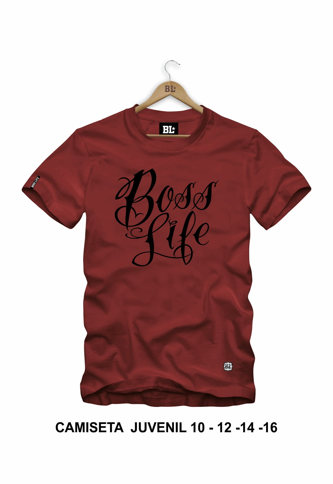 Camiseta Juvenil Boss Life