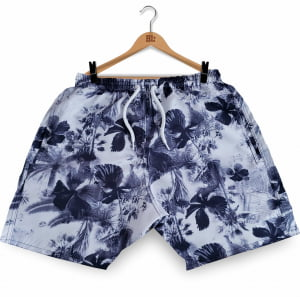 Swim Short Floral BK BM2017