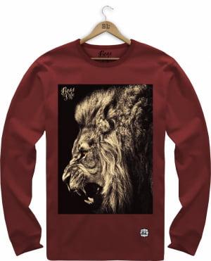 CAMISETA MANGA LONGA LION