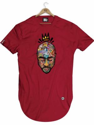 Camiseta Longline 2Pac
