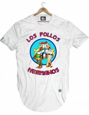 Camiseta Longline Pollos