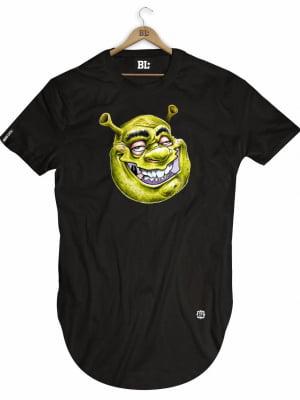 Camiseta Longline Shrek