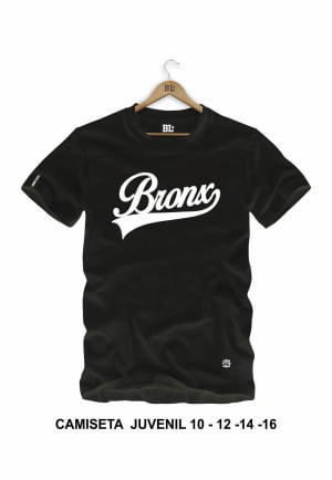 Camiseta Juvenil Bronx